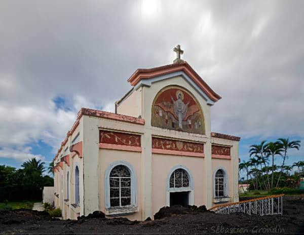 Eglise Notre de Dame des Laves Réunion