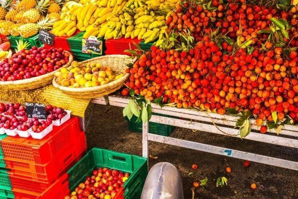 Vacances Réunion marché de Saint Pierre